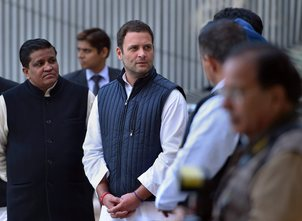 Rahul Gandhi attacks PM, accuses BJP of spreading hatred